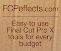 Easy To Use Final Cut Pro X Plug-Ins for Every Budget